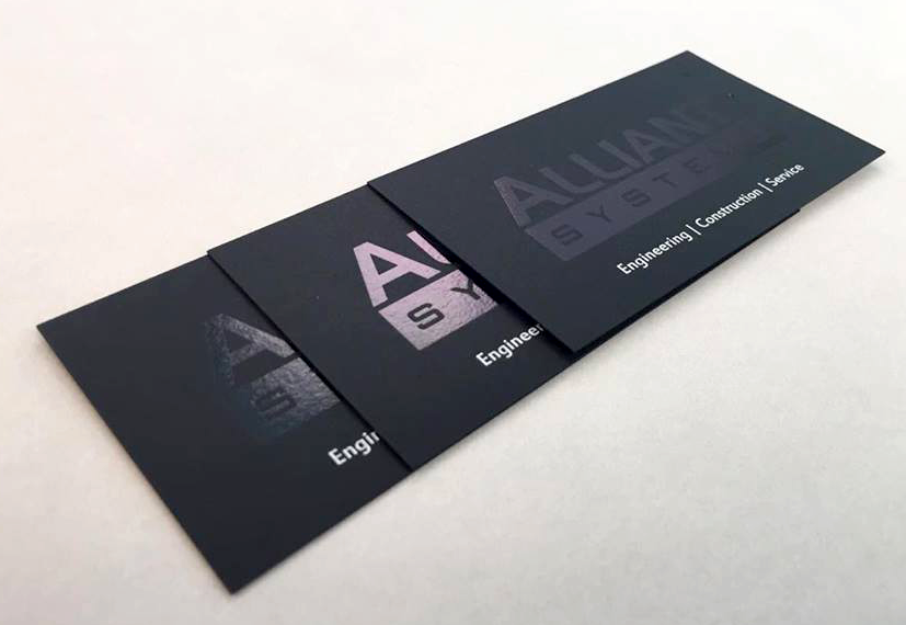 Offset Press- specialty business cards - Offset Printing