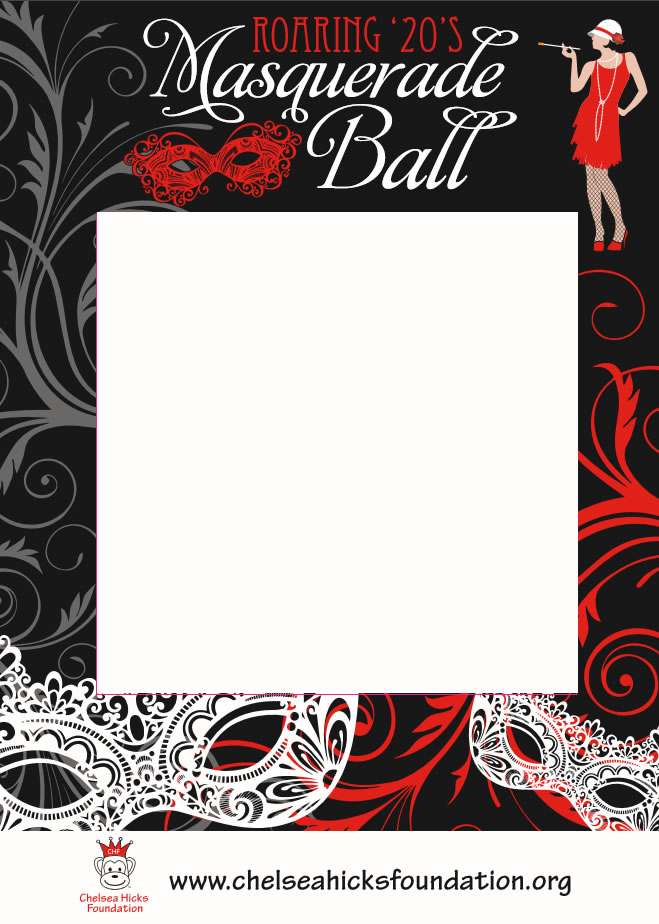 Roaring 20s Masquerade Ball - Graphic Design Services