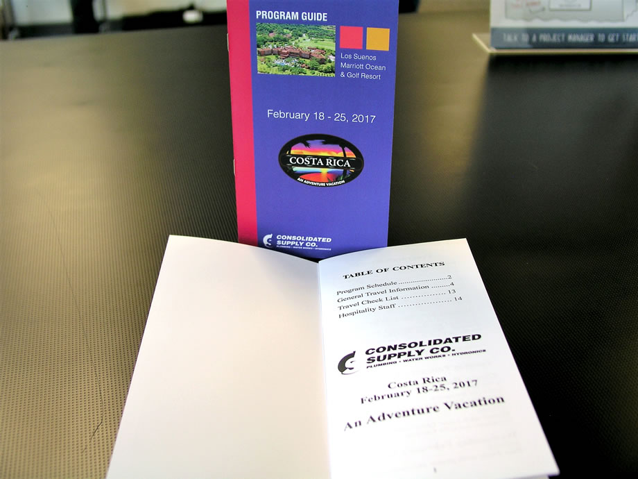 Booklets and book printing