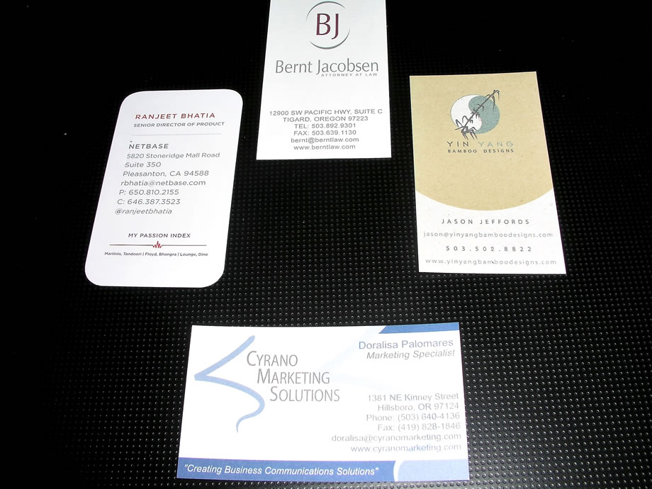AnchorPointe Graphics - Business Cards - Professionally Designed ...