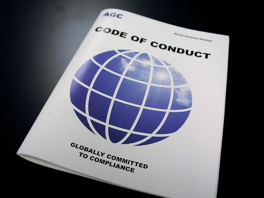 Catalog - Code of Conduct