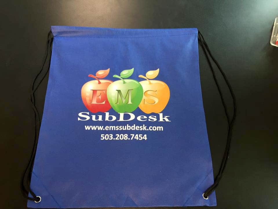 Promotional Products - Printed Cinch Bag