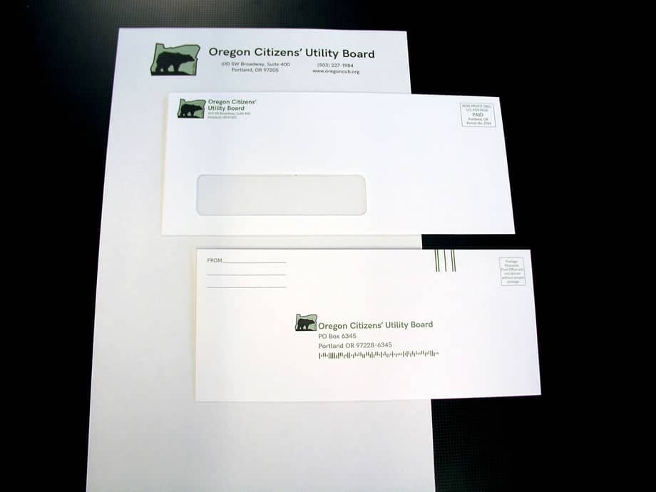 Envelopes - Oregon Citizens with Letterhead