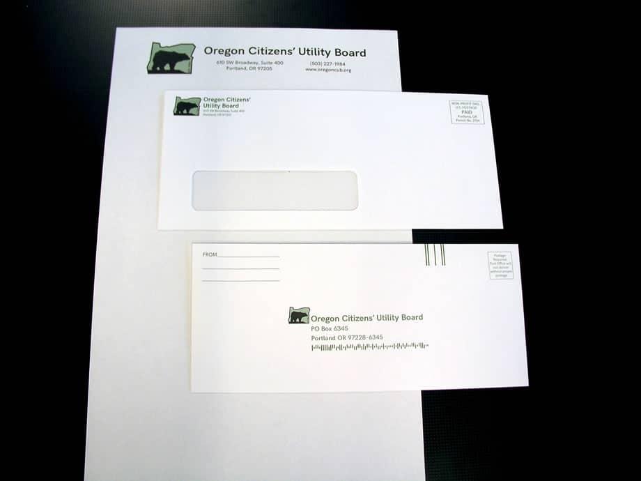 Envelopes - Oregon Citizens with Letterhead