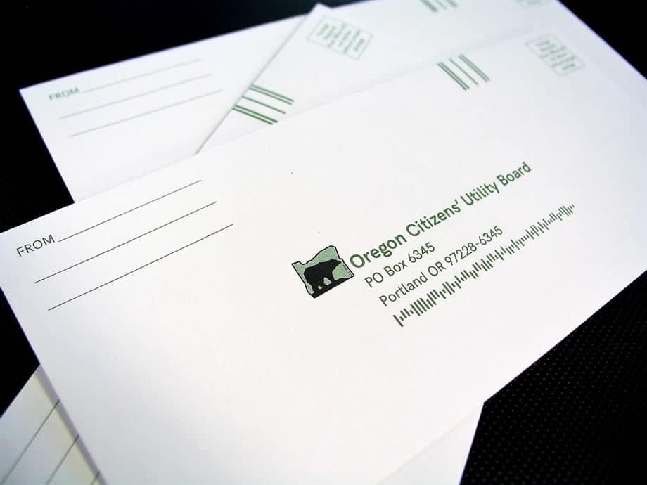 Envelopes - Oregon Citizens