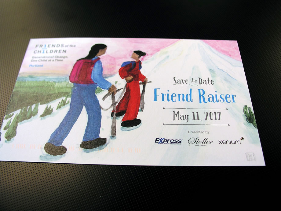 Friends of the Children Postcard