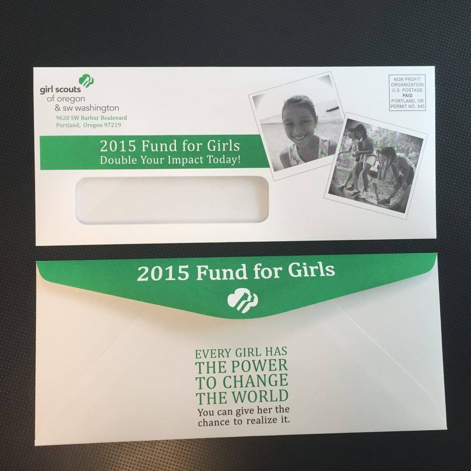 Girl Scouts Envelopes