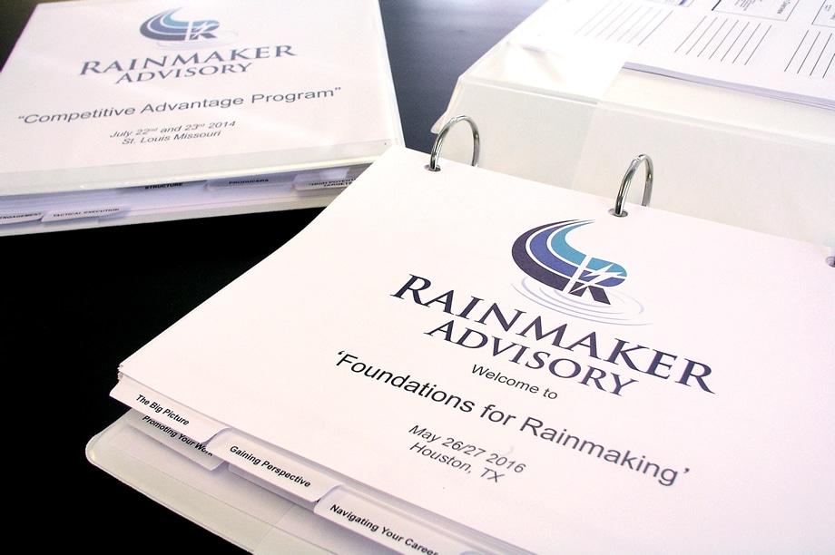 Example of custom manuals - Rainmaker Advisory