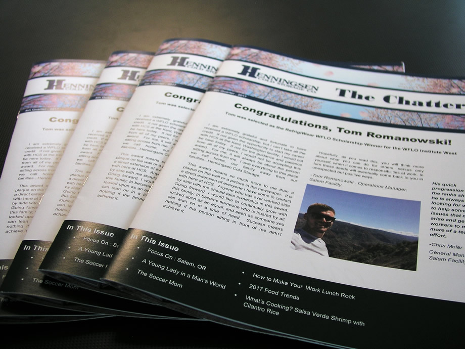 Full Color Glossy Newsletters