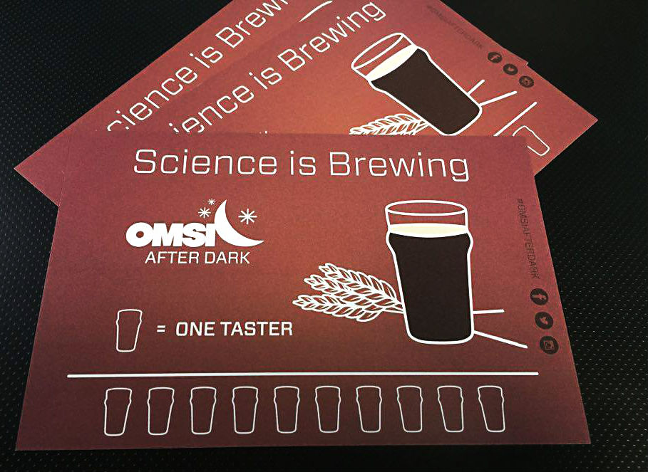OMSI - Science is Brewing - Postcards