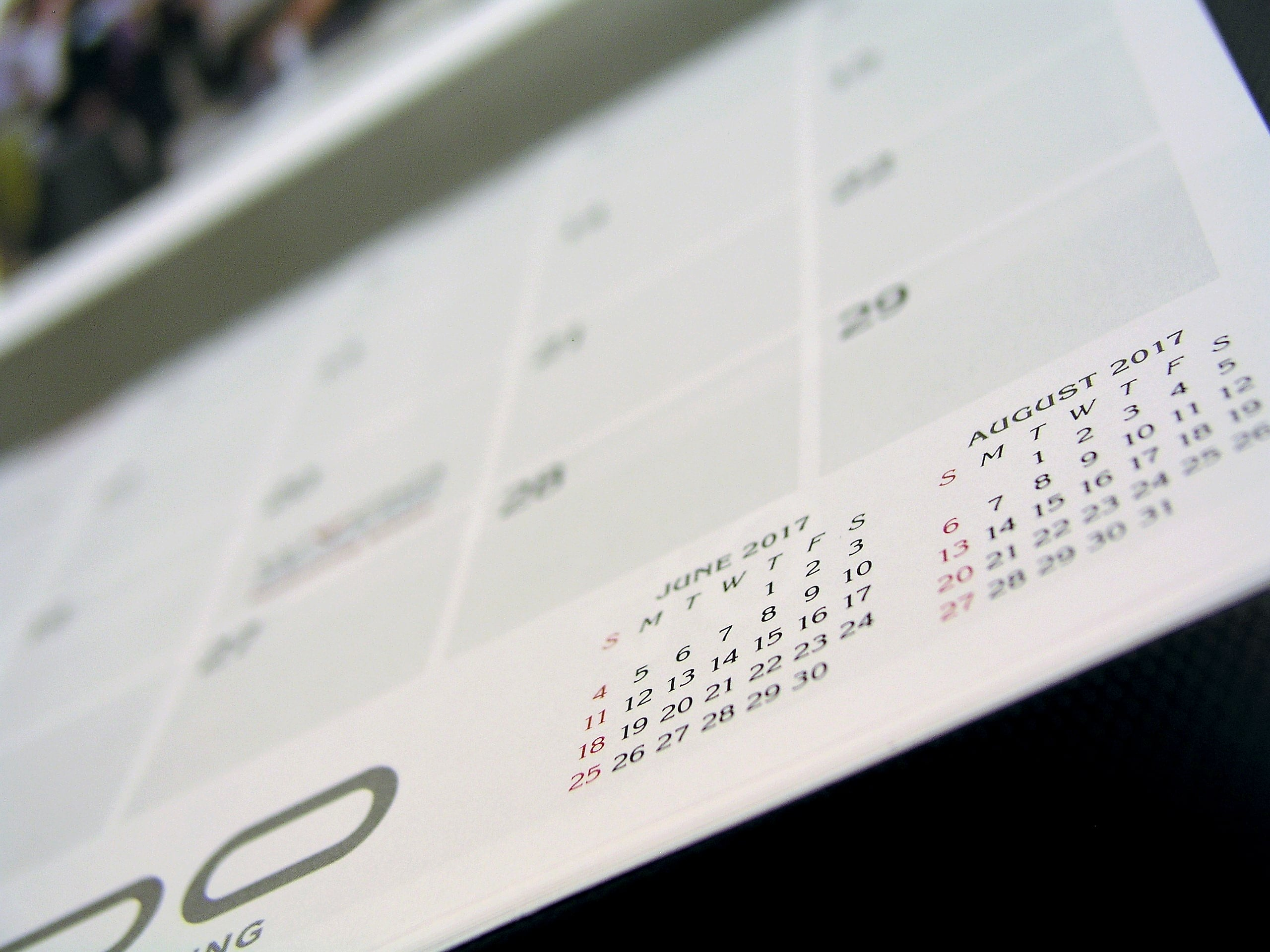 Example of Custom Calendar