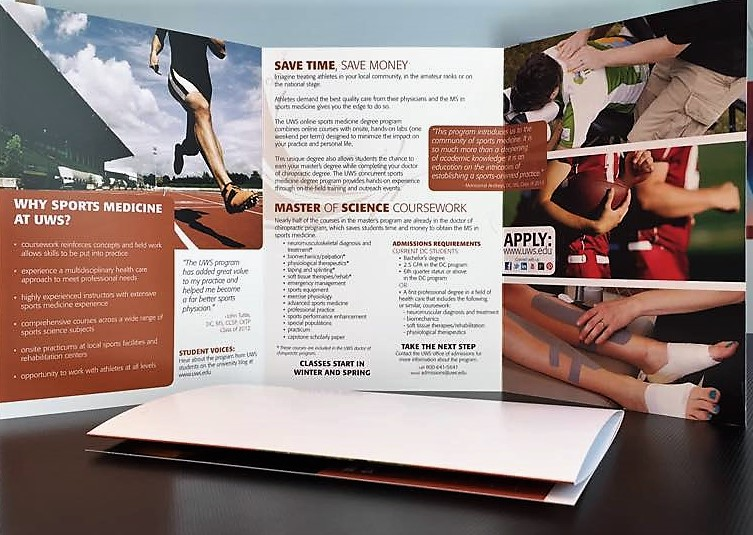 Trifold Standing Brochures