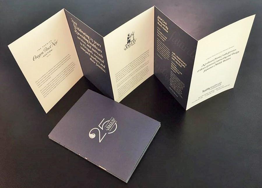 Brochure Printing - Fold-Out Programs