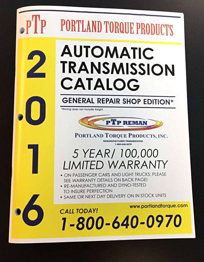 Automatic Transmission Catalog