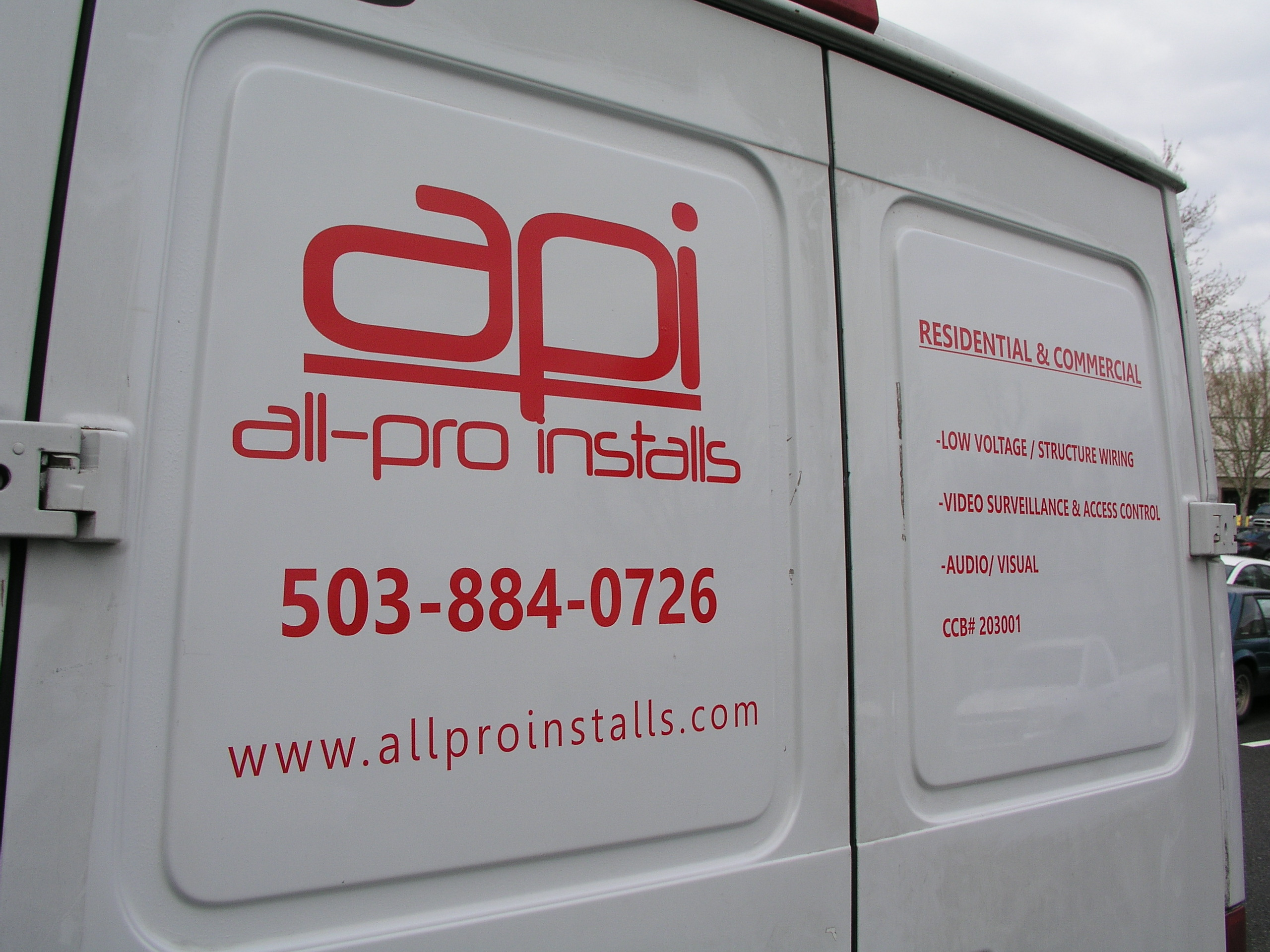 API - Branded Vehicle Graphics