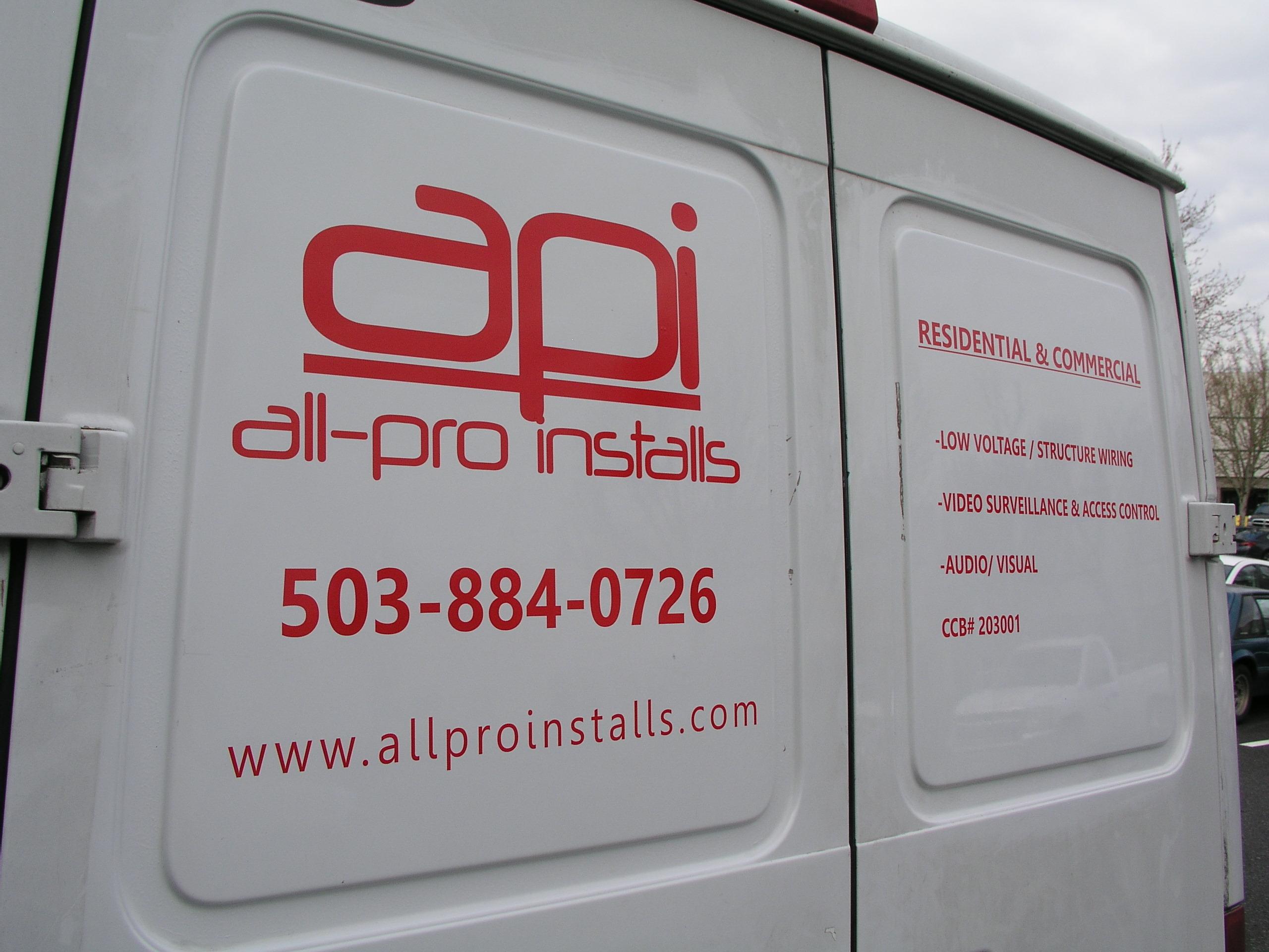 API - Branded Vehicle Graphics