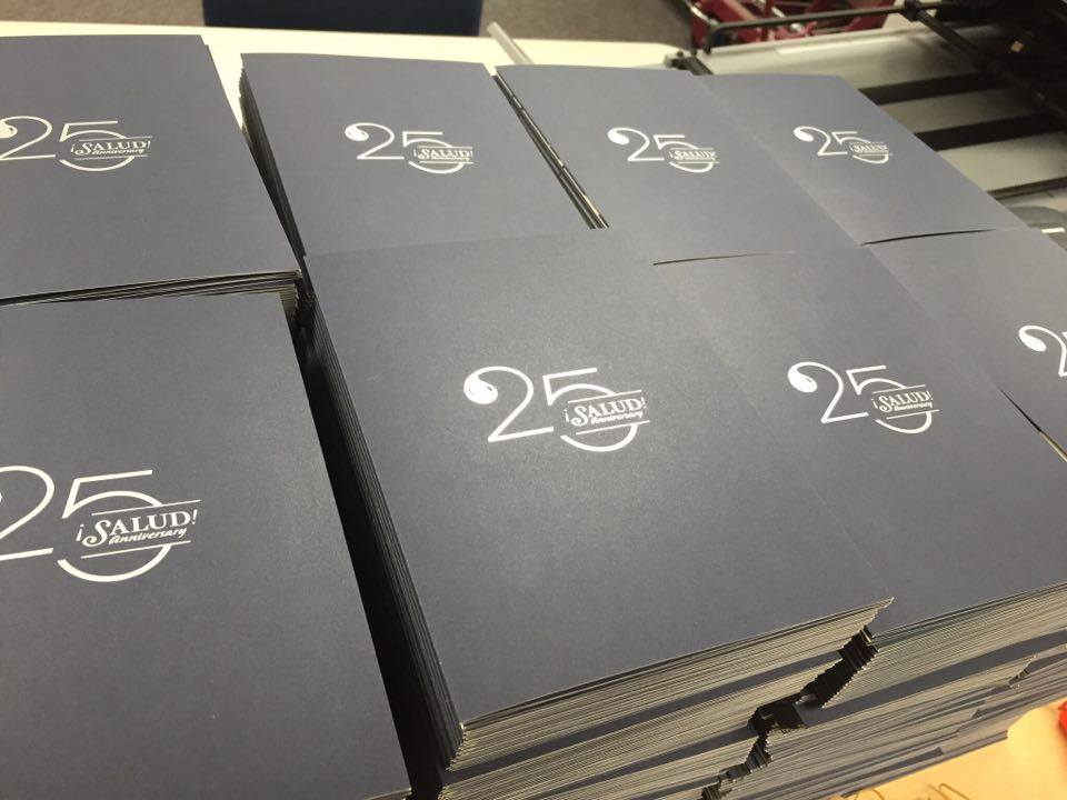 25th Anniversary Flyers