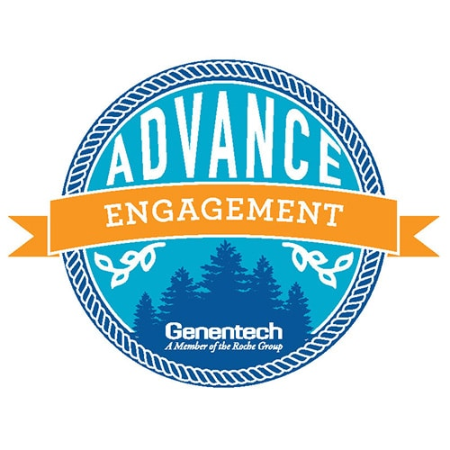 Advance Badge Logo