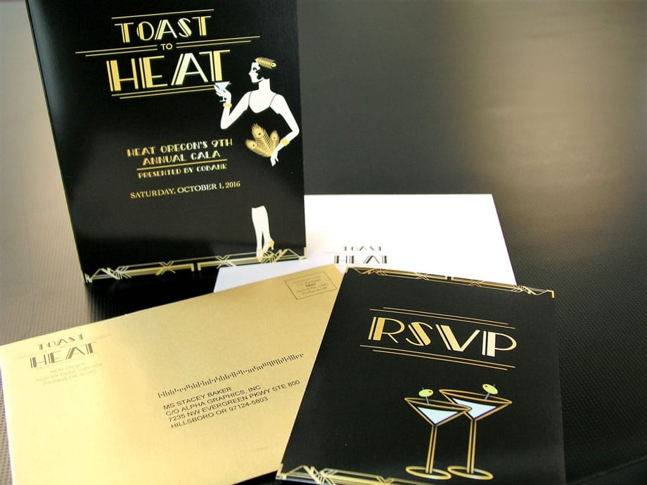 Event Materials - Toast to Heat