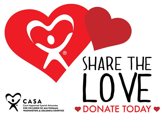 Share the Love - CASA