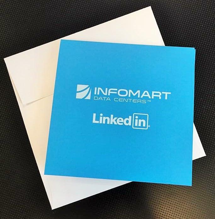 Infomart white ink