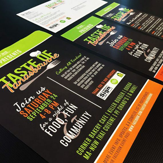 Custom Graphic Design and Printing