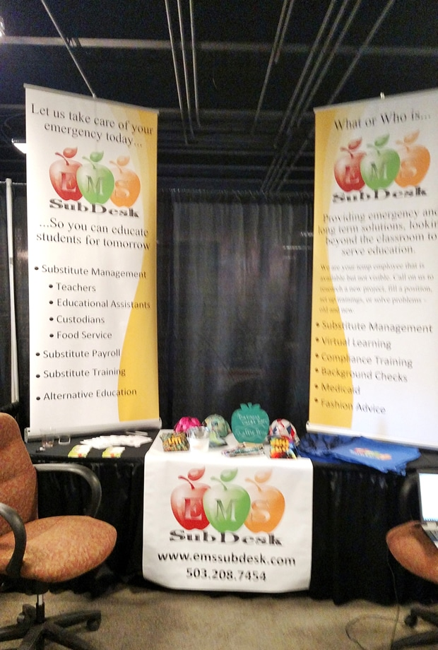 Tradeshow banners and signs