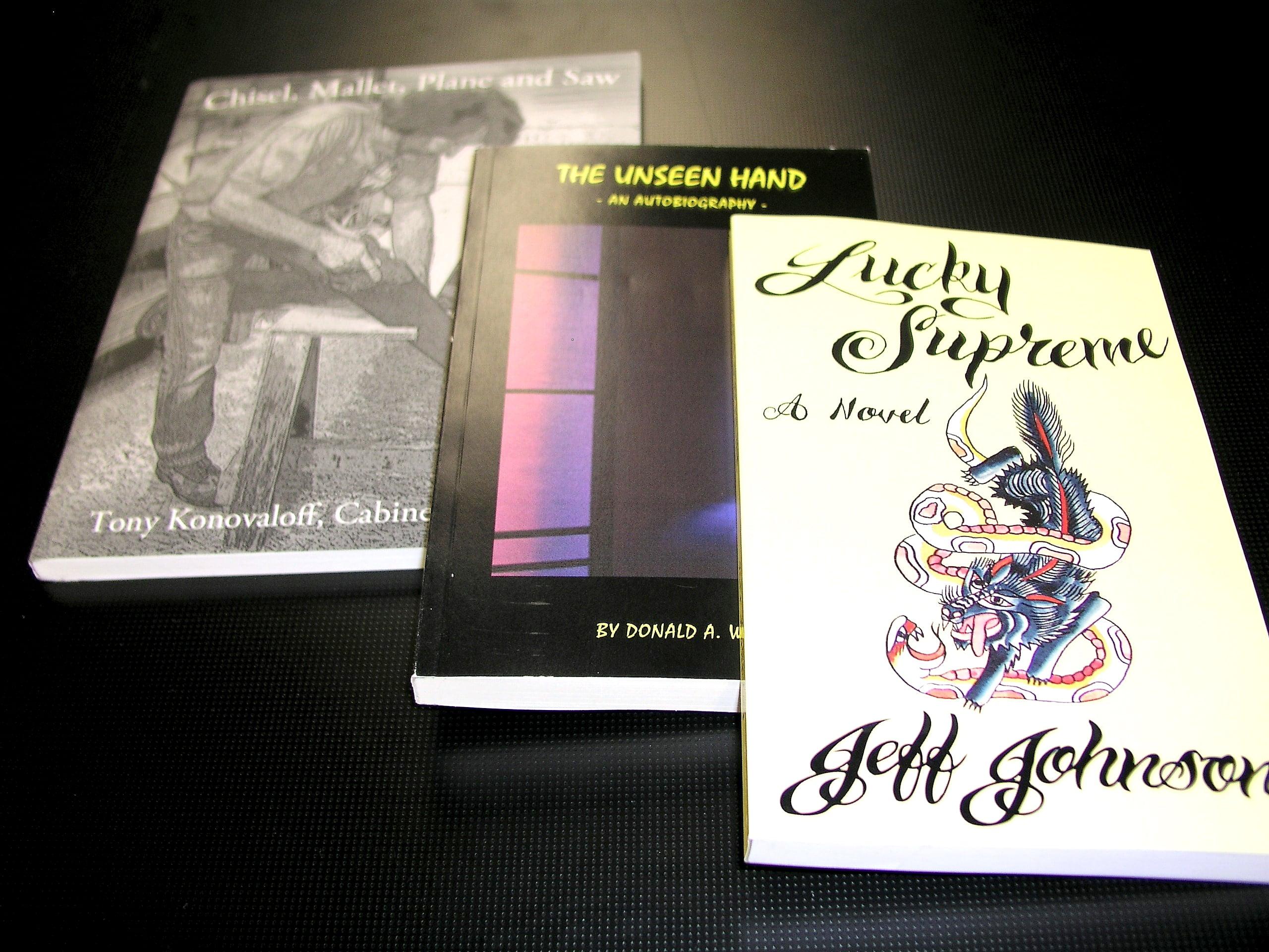 Perfect bound books