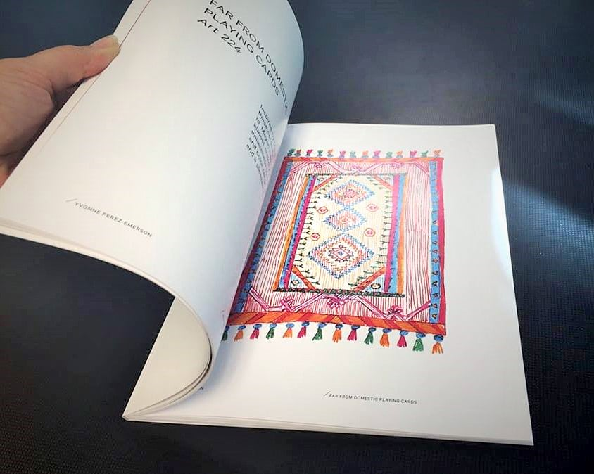 Perfect Bound Book (inside)