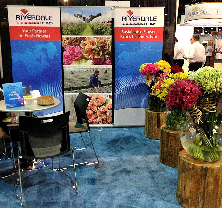 Tradeshow stands and banners