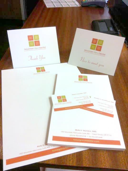 Business Package letterhead