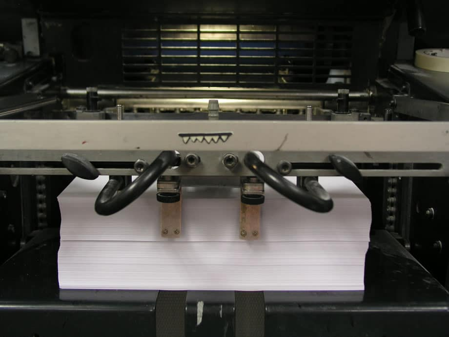 Press Sheets - Offset Printing