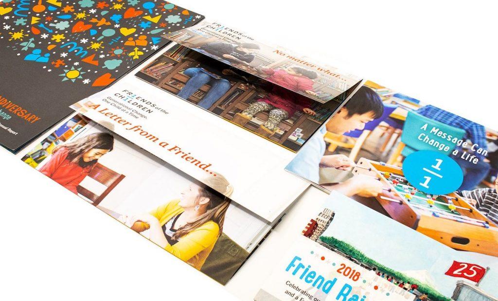 Friends of the Children – marketing materials