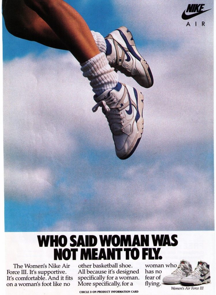 Nike ad from 1980