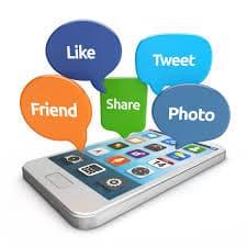smartphone - social media