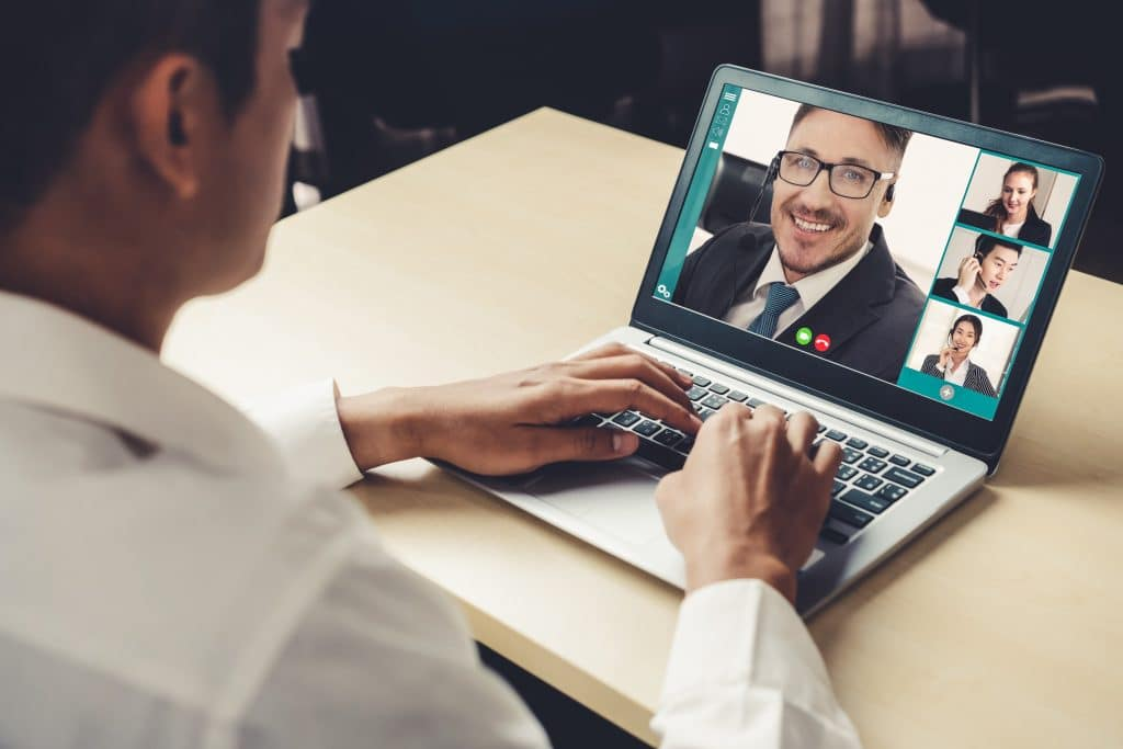 video call marketing team